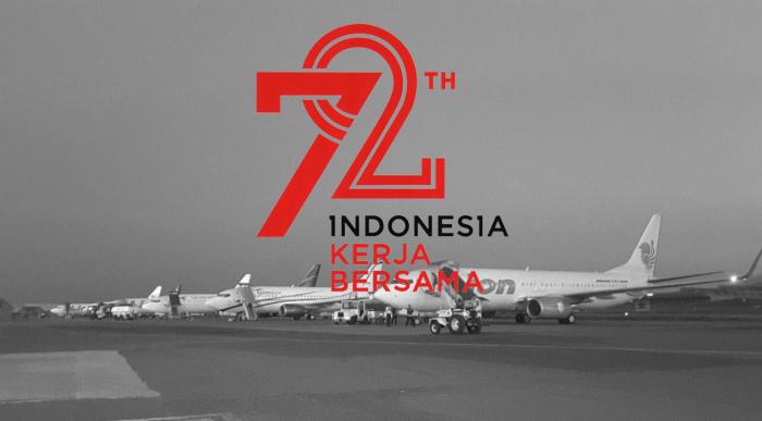 Pilot Indonesia dalam 72 TahunKemerdekaan